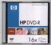 Диск HP DVD-R 4.7GB Slim 16x