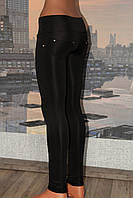 Лосины женские с широким поясом, микродайвинг, р 42,44,46,48,50