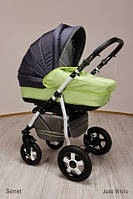 Универсальная коляска 2 в 1 Ajax Group Sonet new Jade