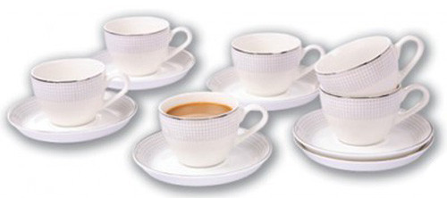 Кофейный набор AURORA AU-926, 12 предметов