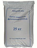Фильтрационный песок QuartzLine 0,5–1,2 мм (25 кг), Украина.