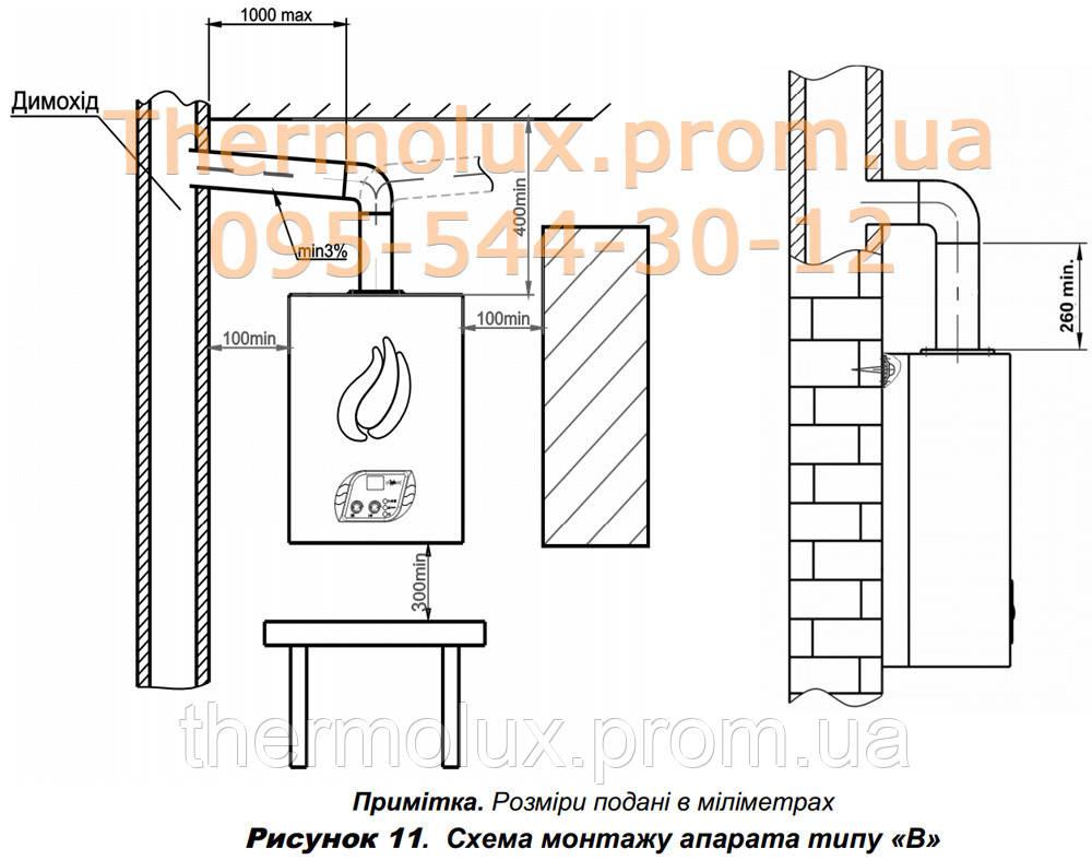 схема на блок управления розжигом газовой колонки