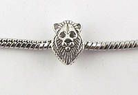 Шарм Лев для браслета Pandora (пандора) серебро
