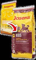 Kids сухой корм супер-премиум класса компании Josera для растущих щенков средних и крупных пород
