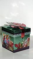 Картонная подарочная упаковка с Балеринами