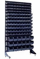 Стеллаж 1800 мм 117 ящиков черных