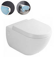 Подвесной унитаз с крышкой Soft-Close Villeroy&Boch SUBWAY 2.0 Direct Flush 5614R0001+9M68S101 АКЦИЯ!!!, фото 1
