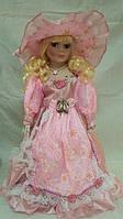 Кукла колекционная фарфоровая Моника  высота 42 см