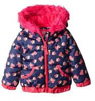 Куртка  для девочки  Weatherproof (США) розовая микрофлис