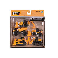 Набор машинок Toy State CAT Mini Machine 5 шт
