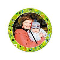 Часы настенные с Вашей фотографией (модель № 4Д)