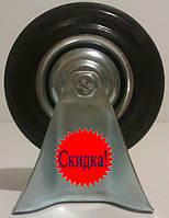 Колеса-ролики на станине, резина, 12,5 см, Польша!, фото 1