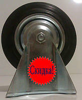 Колеса-ролики на станине, резина, 16 см, Польша!, фото 1