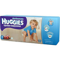 Трусики-подгузники Huggies для мальчиков 4 ( 9-14 ) 52 шт!