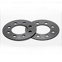 Автомобильные расширительное кольцо ( Spacer ) Н= 5 мм  PCD4*100  DIA 54.1