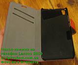 Lenovo S850 червоний чохол-книжка на телефон, фото 3