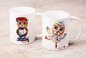 Чашки BEU с притном Сова & Филин