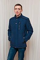 Мужская демисезонная куртка синяя ZPJV