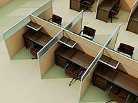 Мобильные офисные перегородки, изготовление, установка
