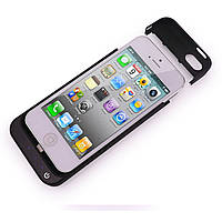 Чехол - батарея / Пауеркейс / аккумулятор JLW power case для iPhone 5, 5s (Черный), фото 1
