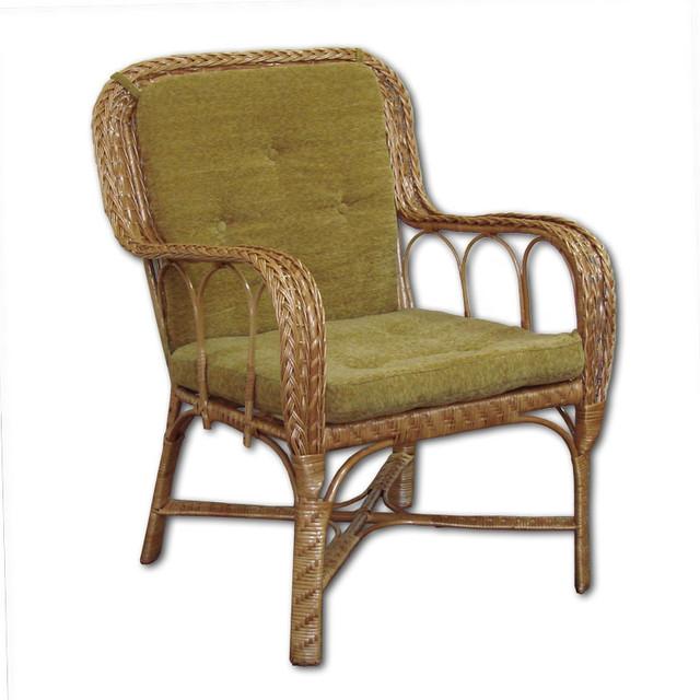 """Кресло плетеное из лозы """"КО - 8"""", Плетеная мебель"""