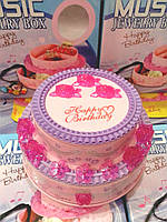 Шкатулка Happy Birthday С Днем Рождения 9208-1