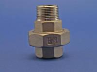 Американка внутр-наружн резьба BSP нержавеющая сталь AISI 316L