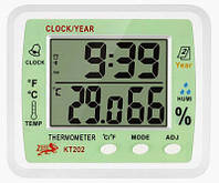 Метеостанция TS KT 202 (изм. температуру и влажность, часы)