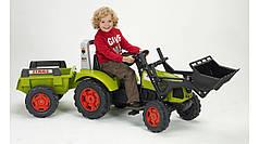 Дитячий трактор на педалях Falk 1040M Claas Arion 430