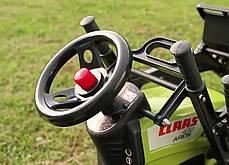 Детский трактор на педалях Falk 1040M Claas Arion 430, фото 2