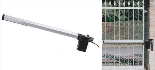 Комплект электромеханических приводов для распашных ворот бытового применения. Створка 1,8м. - FAAC 412