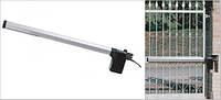 Комплект электромеханических приводов для распашных ворот бытового применения. Створка 1,8м. - FAAC 412, фото 1
