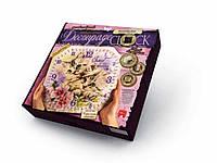Набор для творчества Часы Decoupage Clock Danko Toys, фото 1