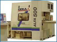 Автоматические линии с ЧПУ для пробивки, рубки и маркировки полосы и уголка ALFA 500