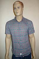 Стильная молодежная рубашка короткий рукав