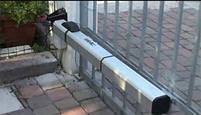 Комплект электромеханических приводов для распашных ворот бытового применения. Створка 2,5м. - FAAC 415, фото 7