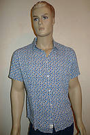 Тонкая стильная рубашка из хлопка, фото 1