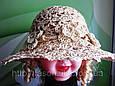 Подростковая шляпа из рисовой соломки, фото 2