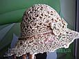 Подростковая шляпа из рисовой соломки, фото 4