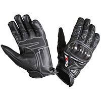 Мотоперчатки кожаные Atrox Shark Black, S
