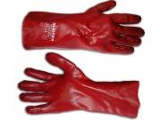 Перчатки маслостойкие с ПВХ (манжет 35 см)