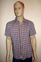 Модная летняя рубашка короткий рукав, фото 1