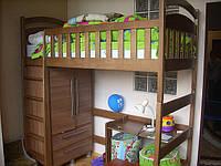 Кровать-чердак Демян без шкафа!