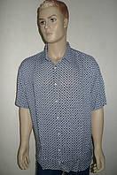 Стильная мужская рубашка Eskola (Турция) с коротким рукавом
