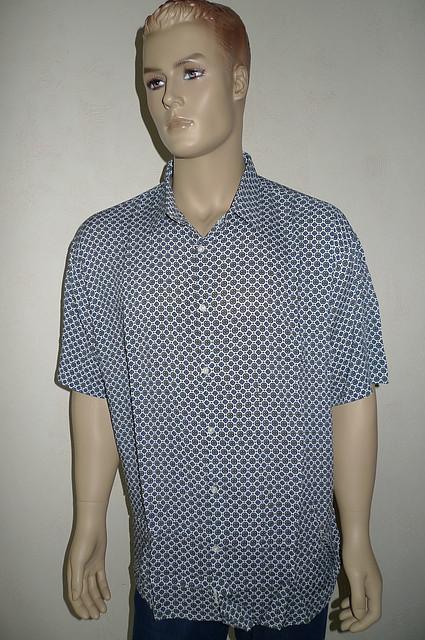 Стильная мужская рубашка Eskola с коротким рукавом