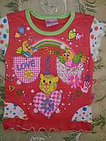 Нарядная футболка для девочки, фото 1