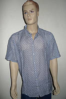 Рубашка мужская Eskola с шелком короткий рукав, фото 1