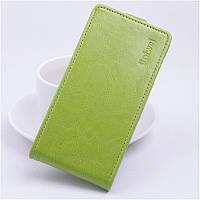 Чехол флип для Lenovo K4 Note зелёный, фото 1