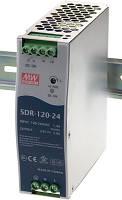 SDR-120-24, SDR-120-12, SDR-120-48 - однофазные источники питания Mean Well (на DIN-рейку)