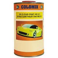 Автолак COLOMIX 2К акриловый бесцветный 2+1 1л + отвердитель 0,5л